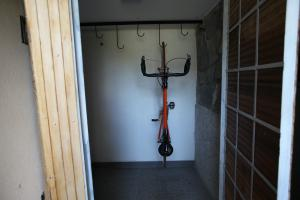 Bicycle and ski storage